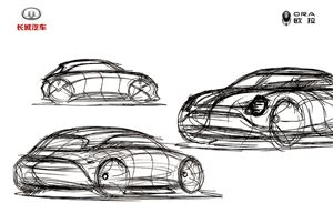 或由前保时捷设计师操刀!长城欧拉新车尽显复古未来主义风格