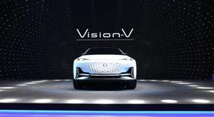 Vision V概念车亮相 长安汽车:只有拼,才会赢!