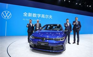 北京车展上那么多新车首发 为什么最亮眼的只有第八代高尔夫?